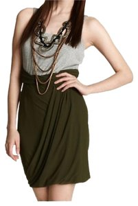 Vena Cava short dress Green Grey on Tradesy