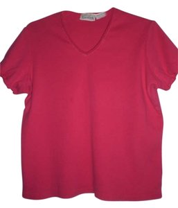 Basic Editions T Shirt fushia