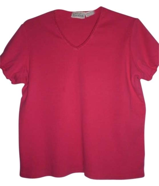 Preload https://item4.tradesy.com/images/basic-editions-fushia-tee-shirt-size-14-l-175133-0-0.jpg?width=400&height=650