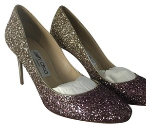 Jimmy Choo Pink and gold Formal