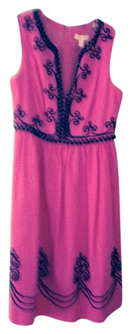 Lilly Pulitzer And Black Beaded Dress