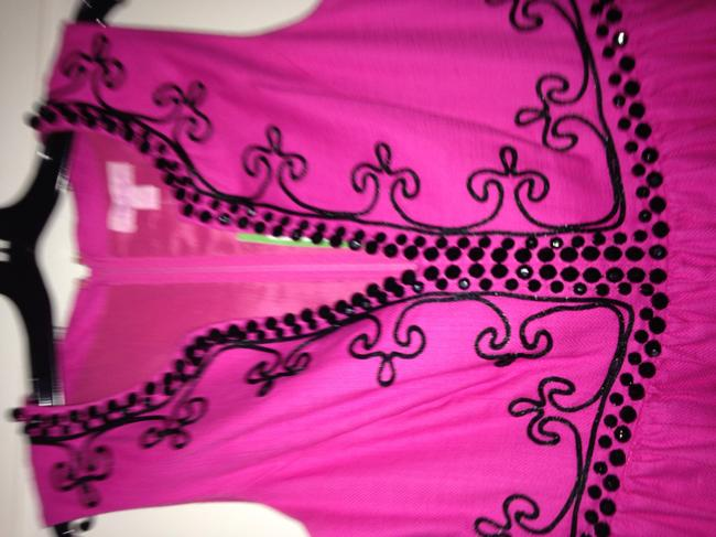 Lilly Pulitzer And Black Beaded Dress Image 3
