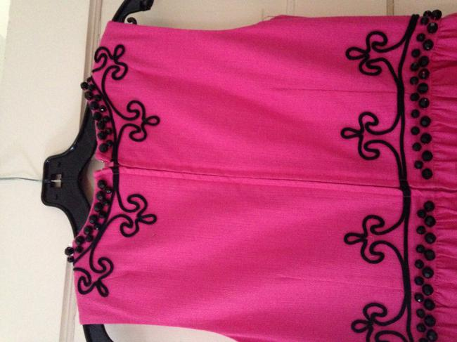 Lilly Pulitzer And Black Beaded Dress Image 6