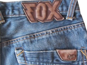 Fox Boot Cut Jeans-Medium Wash