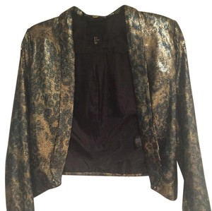 H&M Black, gold Jacket