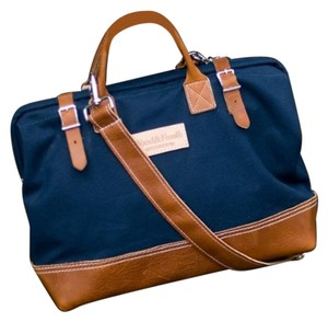 Anthropologie navy Travel Bag