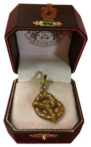 Juicy Couture NEW! JUICY COUTURE ADORABLE SALTED PAVE STONE PRETZEL CHARM!