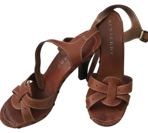 Burberry Vintage Studs Brown Sandals