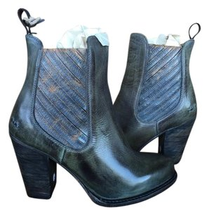 Bed|Stü Distressed 9 New In Box Steel Blue Boots