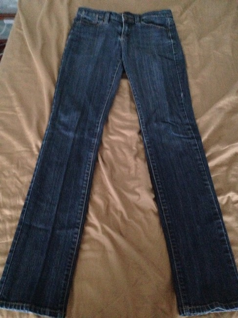 BCBGMAXAZRIA Boot Cut Jeans-Medium Wash
