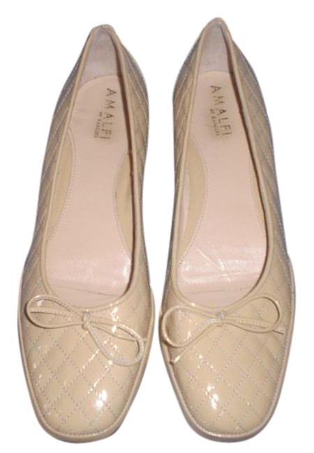 Item - Cream Amalfi By Made In Italy N (Low Wedges Size US 9 Narrow (Aa, N)