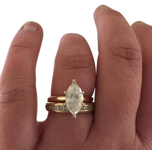 Kay Jewelers Kay Jewelers almost 2 carat Marquis Diamond and 1 carat anniversary ring