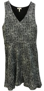 Joie short dress Grey and Black Tweed on Tradesy