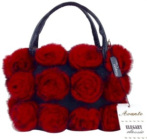 Avante Red Evening red/black Clutch