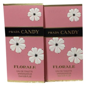 Prada 2 X - PRADA - CANDY FLORALE - Eau de Toilette Perfume Spray Sample / Travel Size