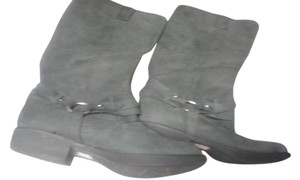 Kenneth Cole dark charcoal blue Boots