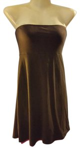 Victoria's Secret short dress Brown Strapless Cover Up on Tradesy