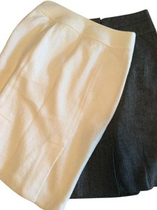 Banana Republic Forever 21 Skirt White and Grey