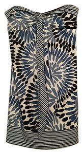 BCBGMAXAZRIA short dress Blue Bcbg Max Azria on Tradesy