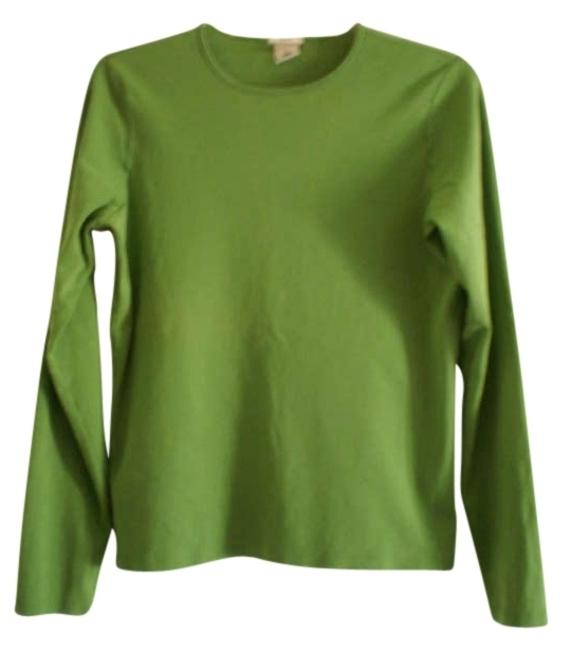 Preload https://item1.tradesy.com/images/old-navy-green-long-sleeved-tee-shirt-size-10-m-175175-0-0.jpg?width=400&height=650