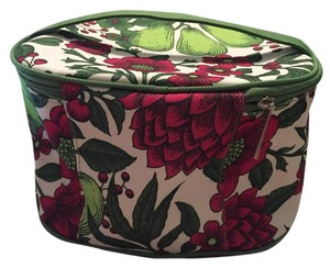 Clinique Pear and Flower cosmetic bag