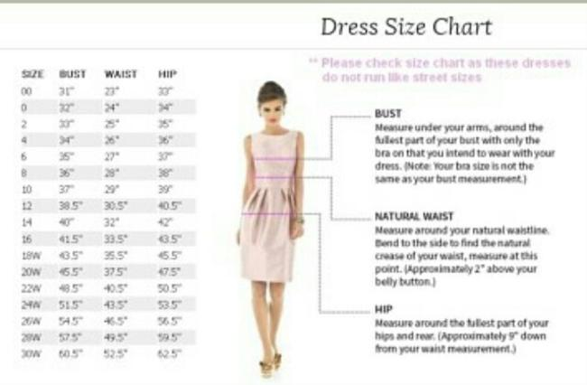 Dessy Full Length One Chiffon Dress