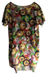 TINSQUARE short dress PRINT Silk on Tradesy