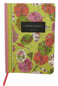 Cynthia Rowley CYNTHIA ROWLEY BOUND NOTEBOOK - decorative lined pages,ribbon marker - Stationery with Style NWOT