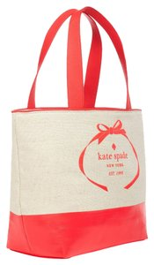 Kate Spade Fabric Tote Everyday Coral Beach Bag