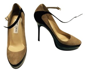 Jimmy Choo Black/Beige Pumps