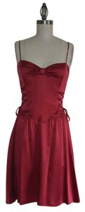 Betsey Johnson Vintage Silk Fit And Flare A-line Dress