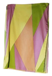 Versace Jeans Collection Geometric Color-blocking Skirt Multi-color