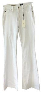 AG Adriano Goldschmied Janis High Waisted High Rise Flare Leg Jeans-Light Wash