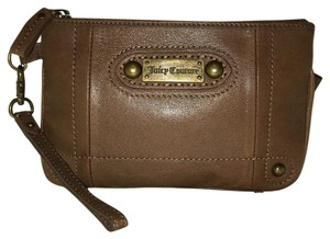 Juicy Couture Wristlet in Taupe