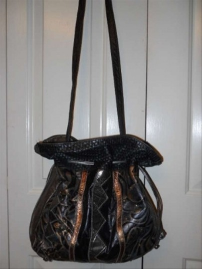 unknown Leather Vintage Shoulder Bag