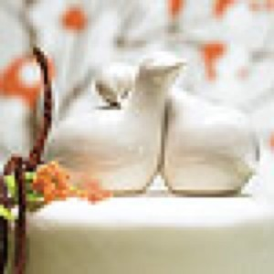 WeddingStar Inc. Natural White Cake Topper
