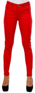 Velvet Heart Stretchy Skinny Jeans-Medium Wash