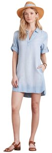 Anthropologie short dress Denim Chambray Washed on Tradesy