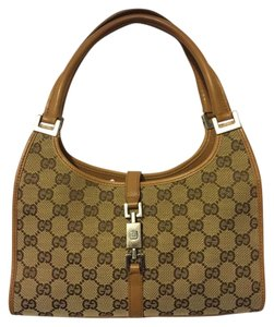 Gucci Tote in Brown Logo Signature