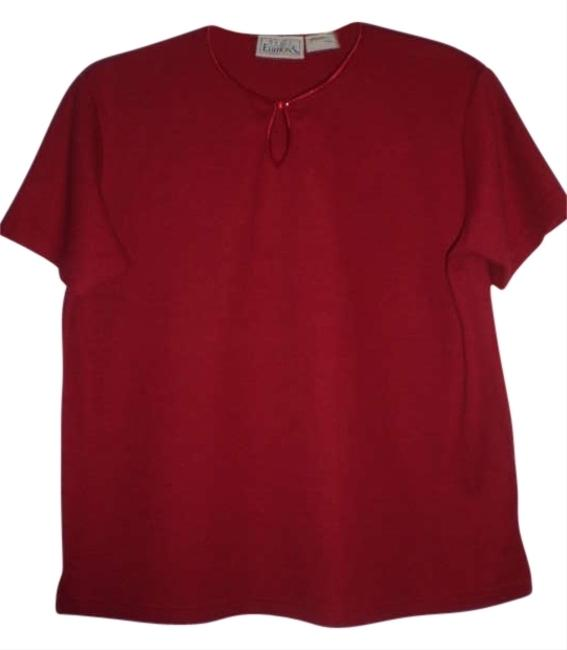 Preload https://img-static.tradesy.com/item/175200/basic-editions-red-tee-shirt-size-10-m-0-0-650-650.jpg