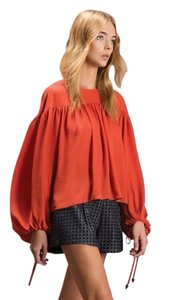 Line & Dot Top Coral