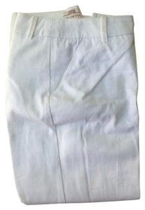 Target Cotton Slacks Cropped Capris High White
