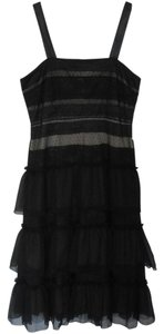 Michael Kors Occasion Lace Silk Sleeveless Dress