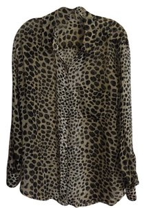 Equipment Top Cheetah Print