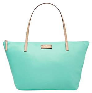 Kate Spade Kennedy Park Medium Nylon Tote in Fresh Air