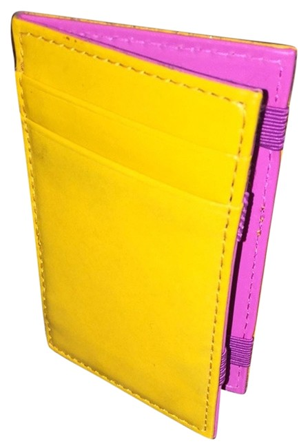 Item - Yellow Leather Wallet