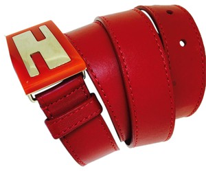 Fendi Fendi leather belt