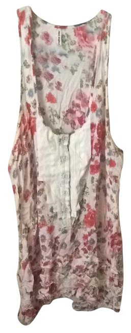 Preload https://item1.tradesy.com/images/free-people-floral-tunic-tank-topcami-size-4-s-1752170-0-0.jpg?width=400&height=650