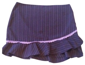 Xhilaration Mini Skirt Gray Pink