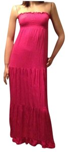 Pink Coral Maxi Dress by Decree